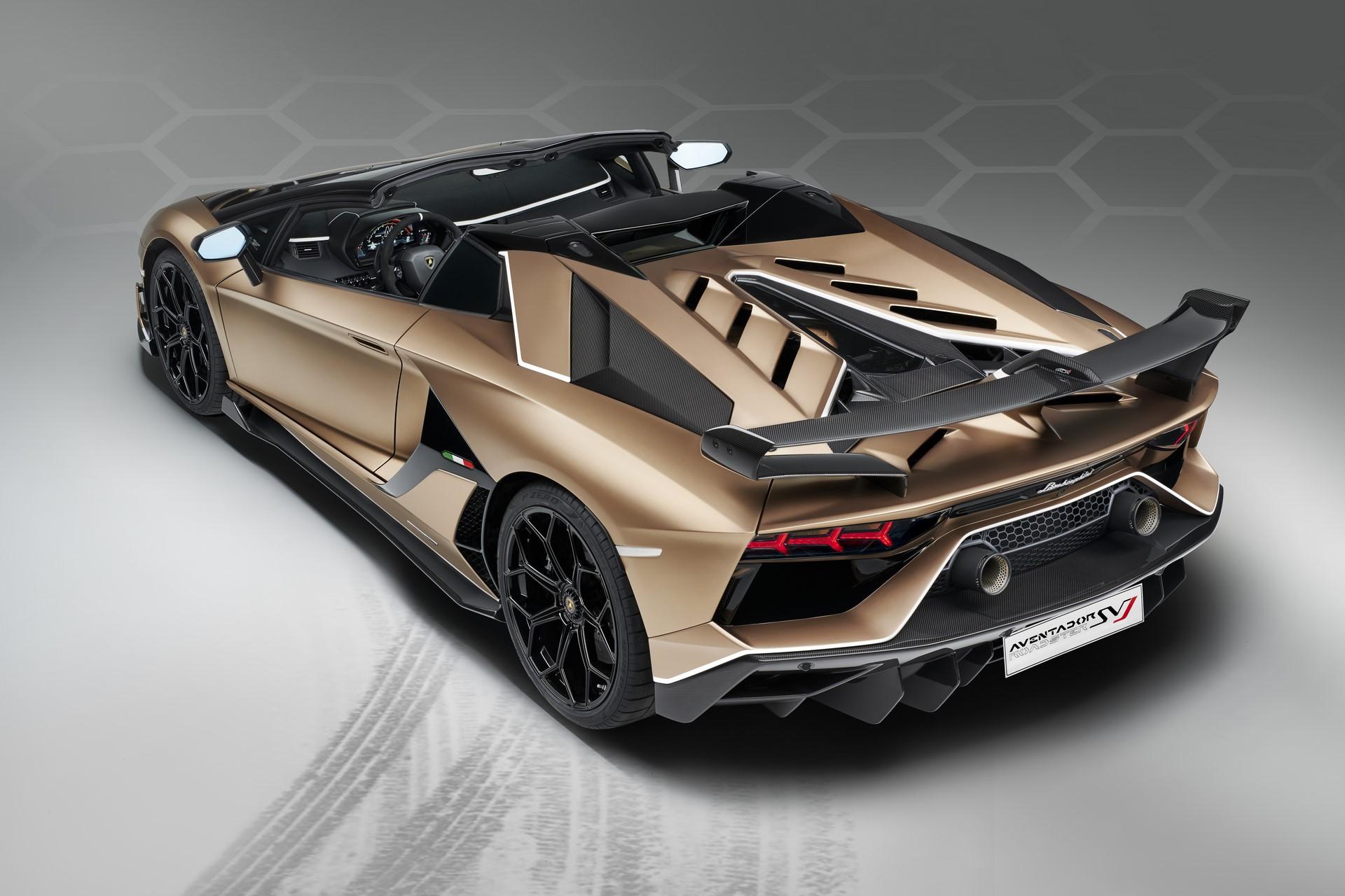 Lamborghini Aventador SVJ Roadster (23)