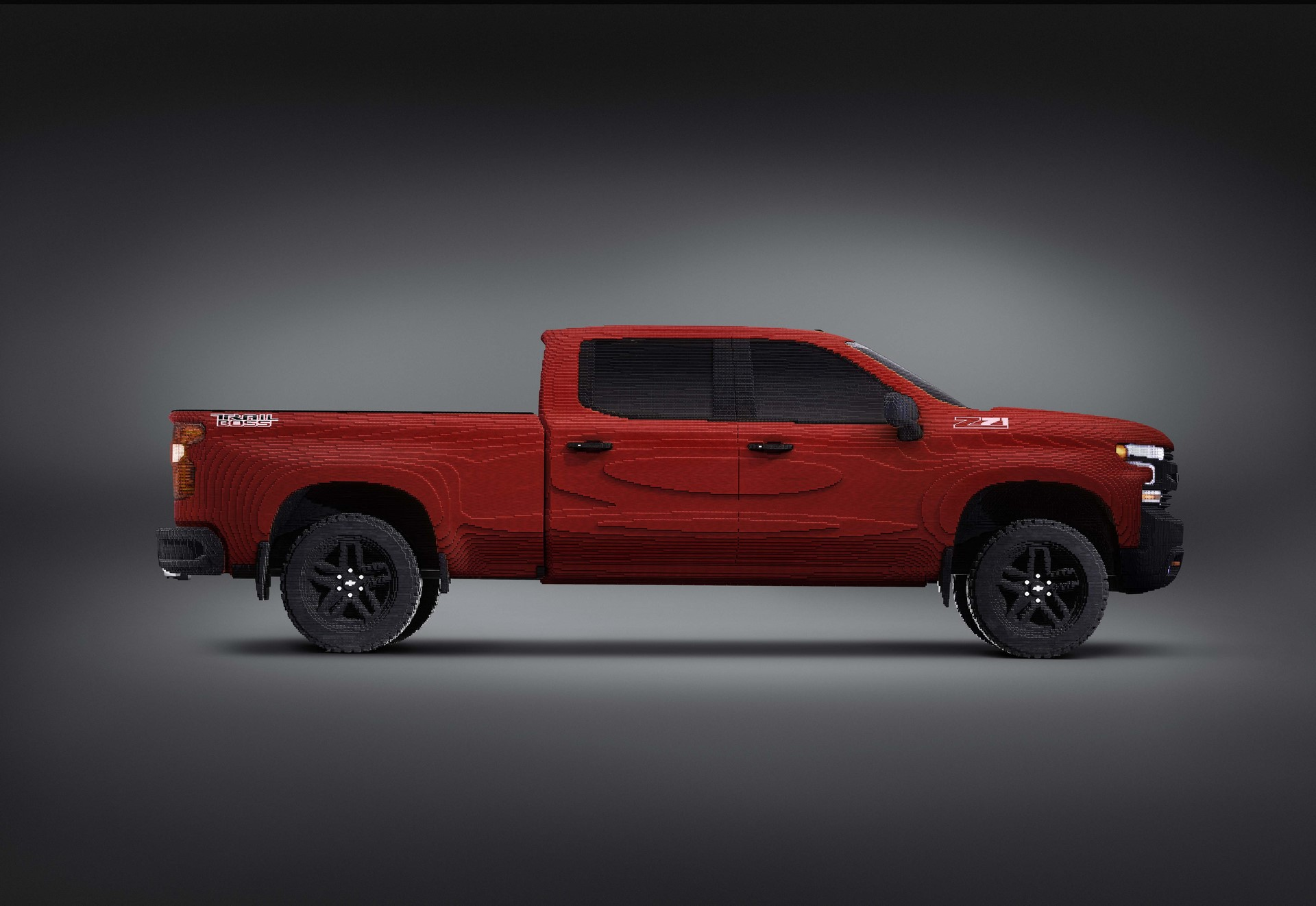 Chevrolet revealed the first-ever full-size LEGO® Silverado at the North American International Auto Show. The truck is a continuation of the partnership between Chevy and Warner Bros. that began in 2017 with the LEGO® Batmobile.