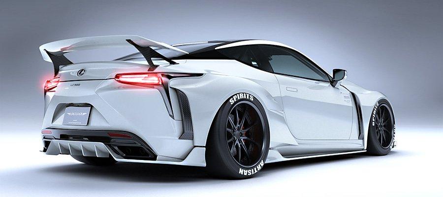 Lexus LC 500 byArtisan Spirits (11)
