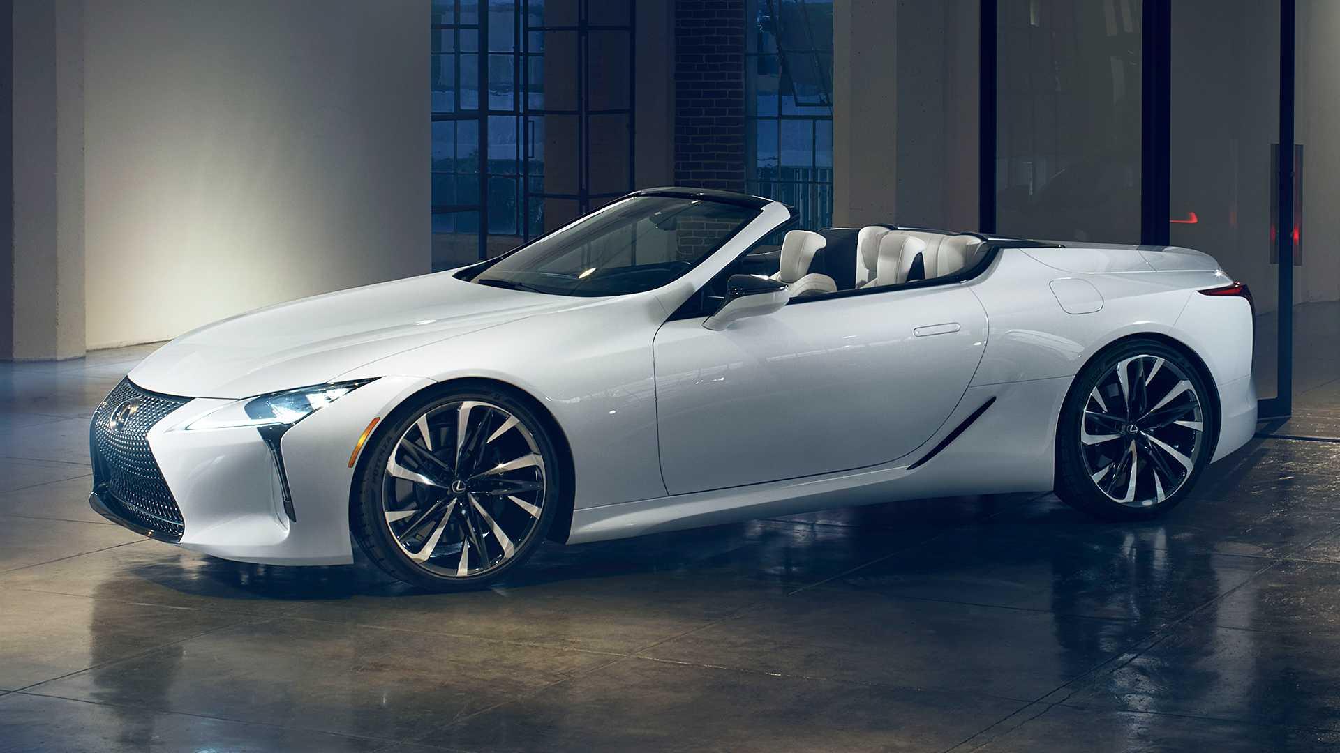 Lexus LC Convertible Concept (1)