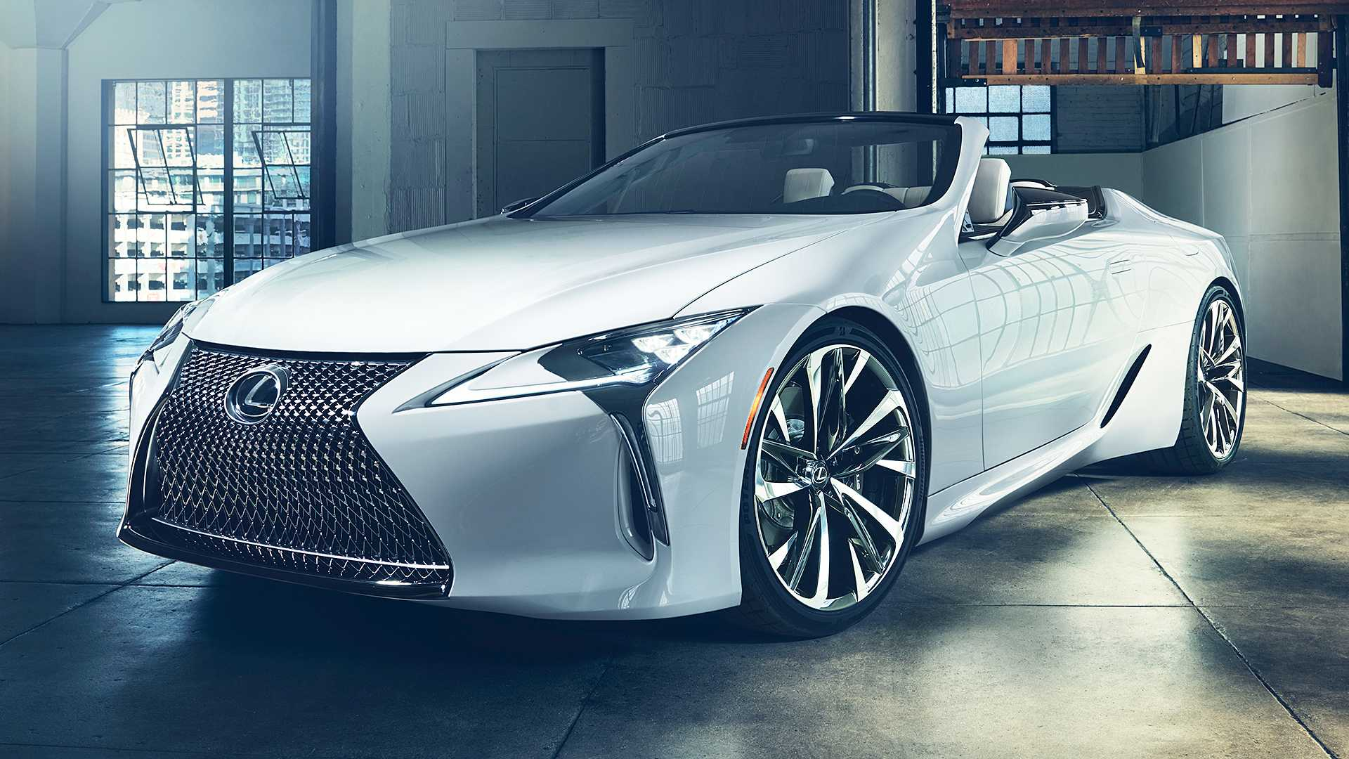 Lexus LC Convertible Concept (3)