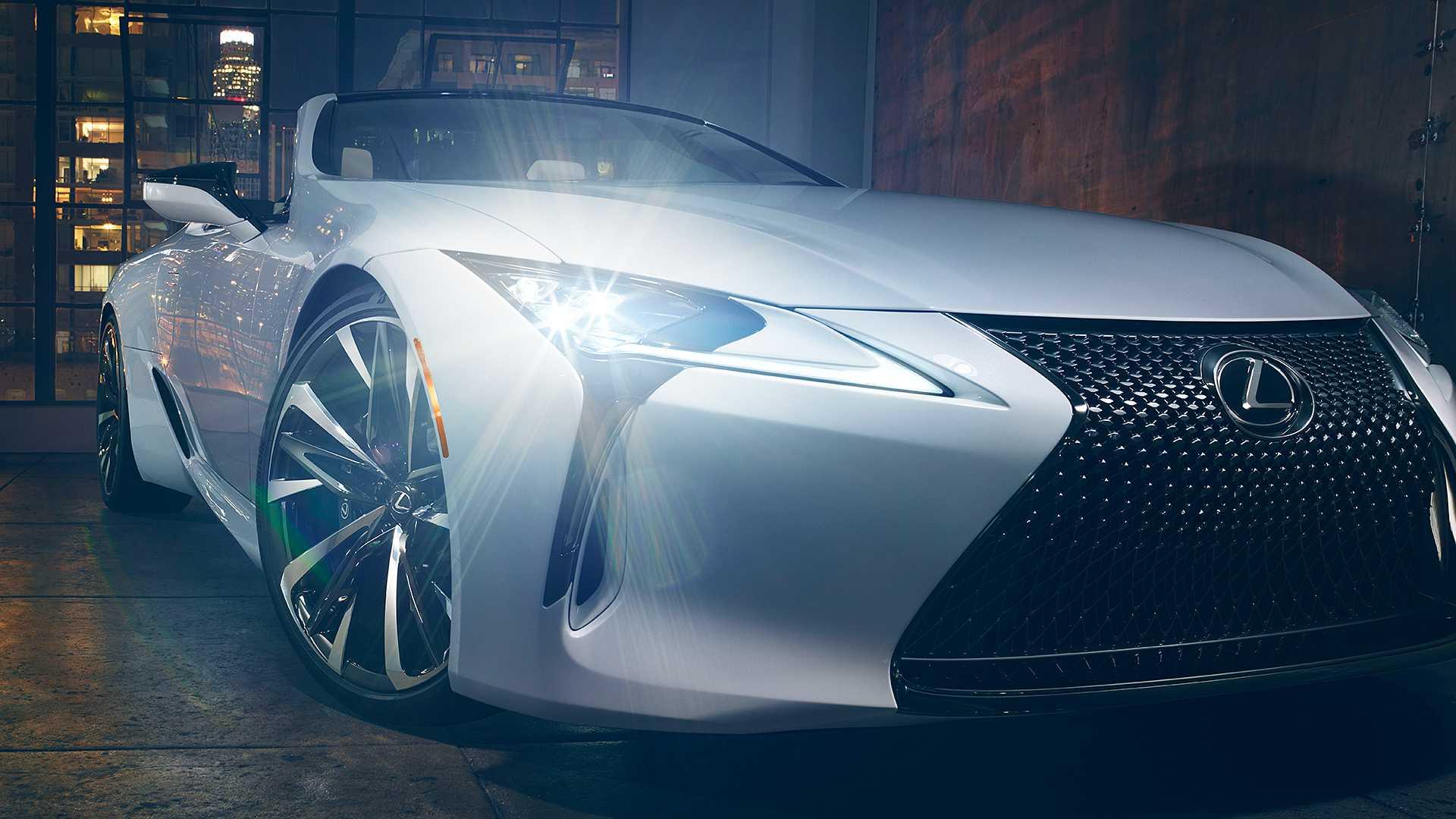 Lexus LC Convertible Concept (4)
