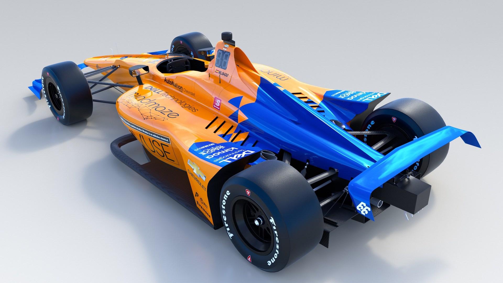 2019 McLaren Indy500 car