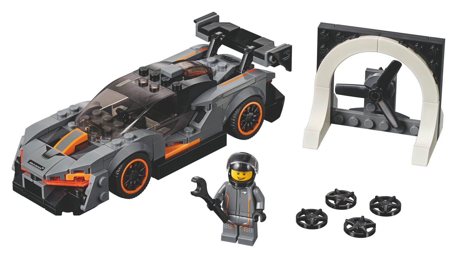 McLaren Senna Lego Speed Champions kit (3)