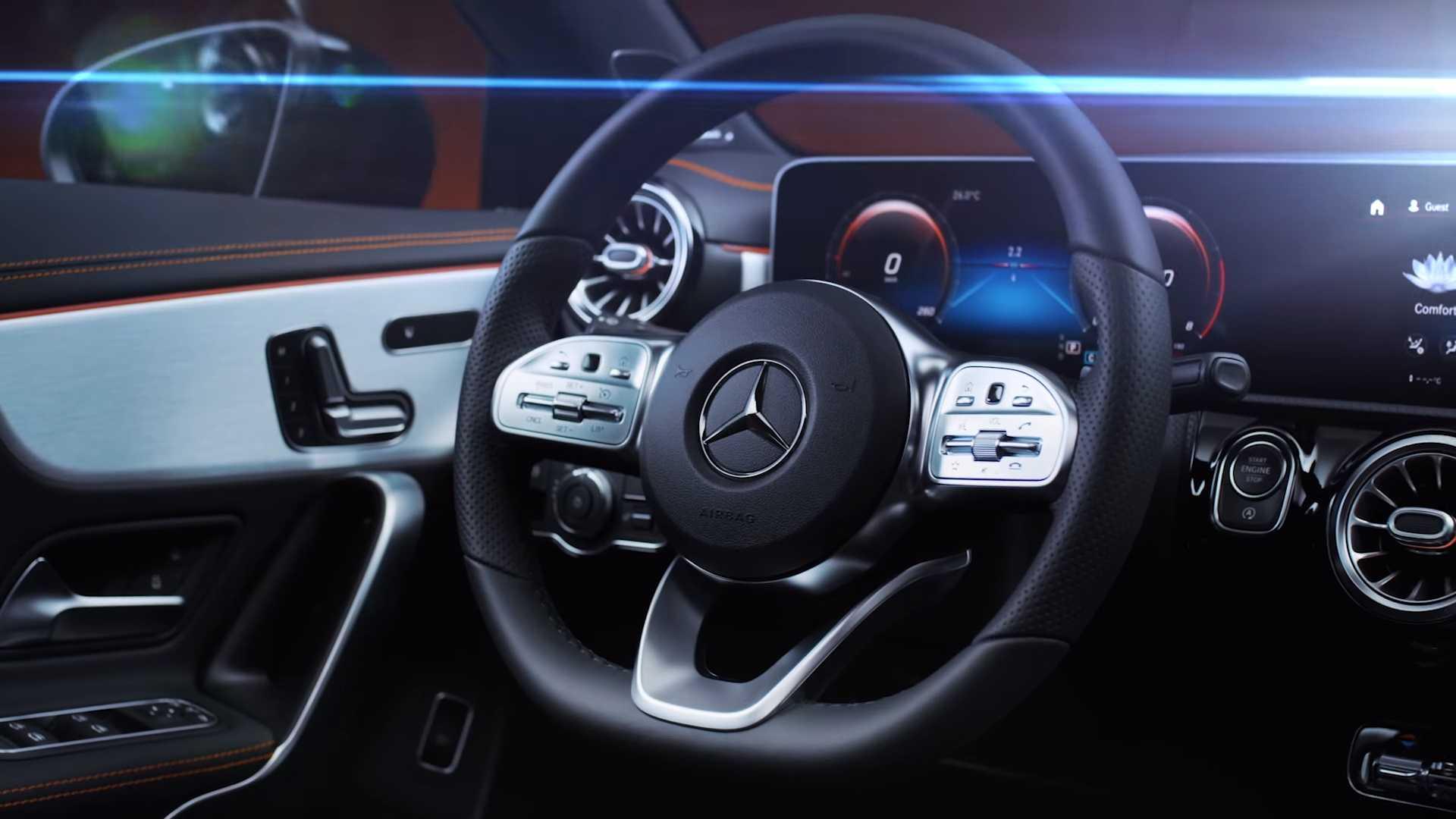 Mercedes CLA 2019 teasers (3)