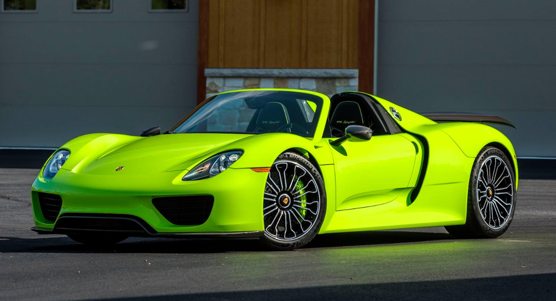 Michael-Fux-cars-auction-Porsche-918-Spyder-1