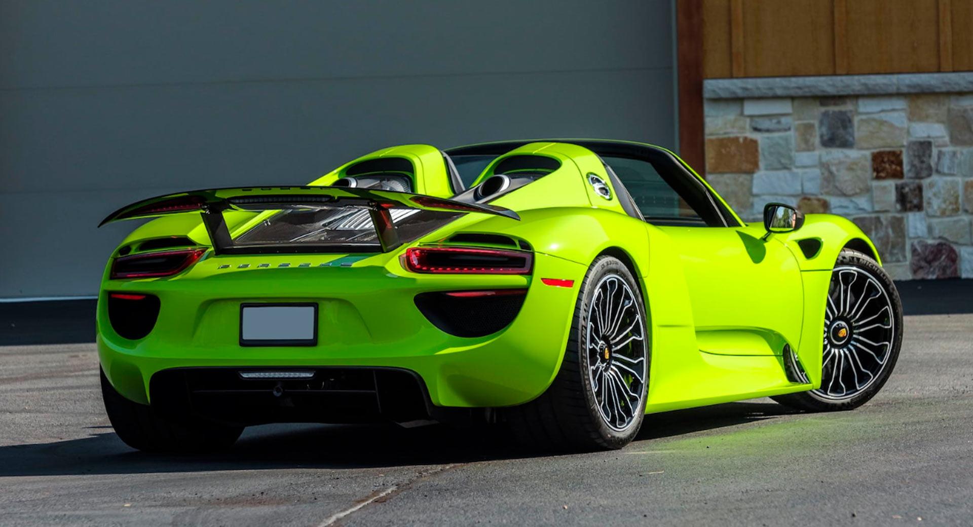 Michael-Fux-cars-auction-Porsche-918-Spyder-2