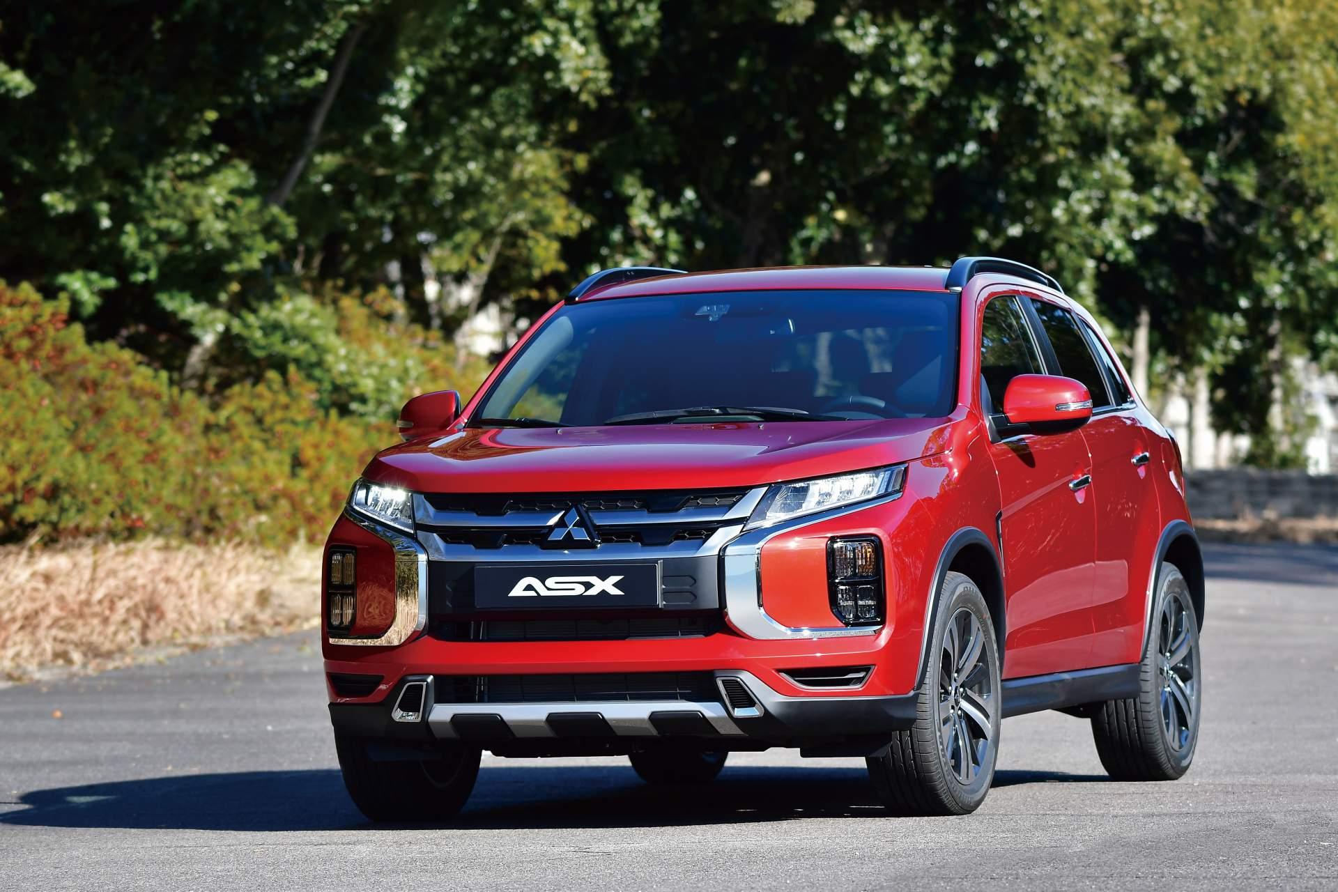 Mitsubishi ASX facelift 2019 (2)