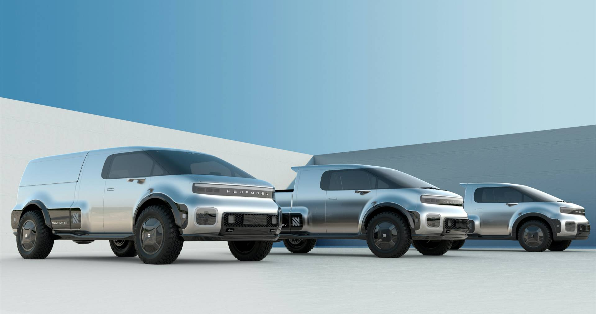 Neuron-EV-T-One-electric-pickup-truck-1