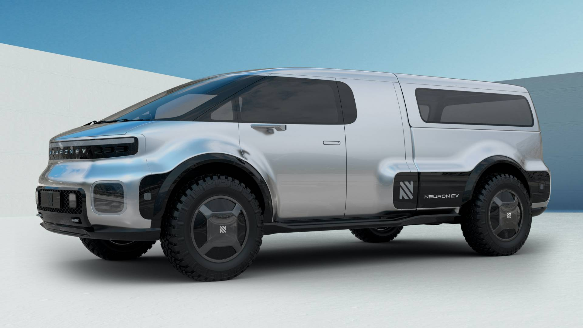 Neuron-EV-T-One-electric-pickup-truck-2