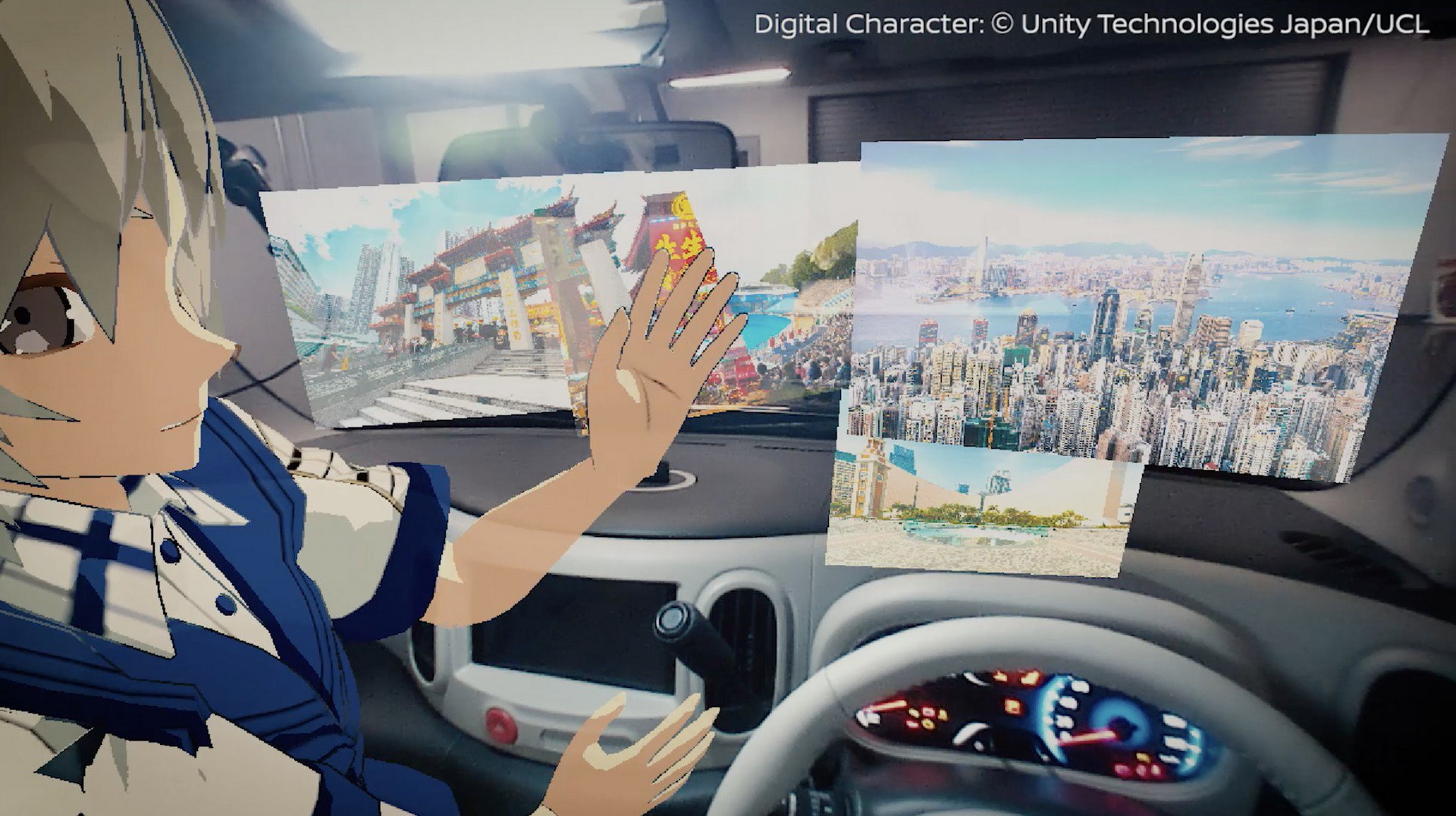 Nissan Invisible-to-Visible technology concept (1)