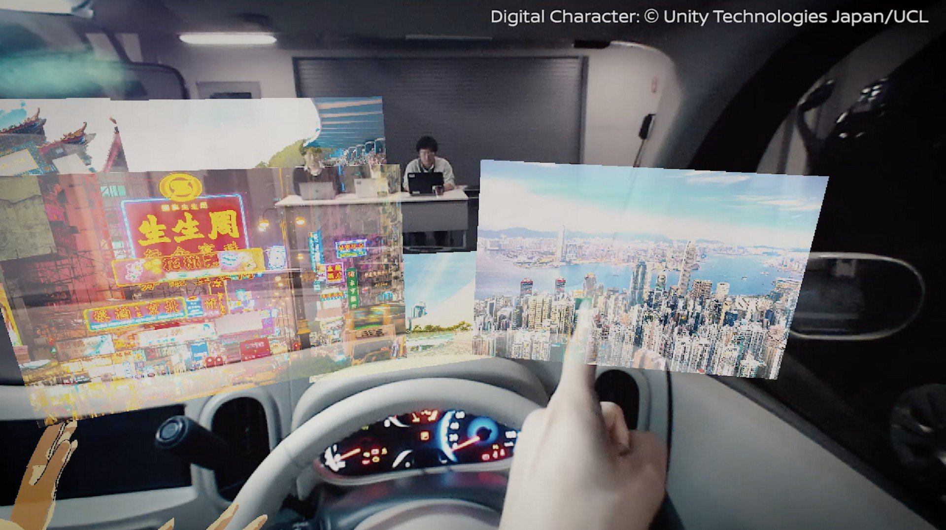 Nissan Invisible-to-Visible technology concept (2)