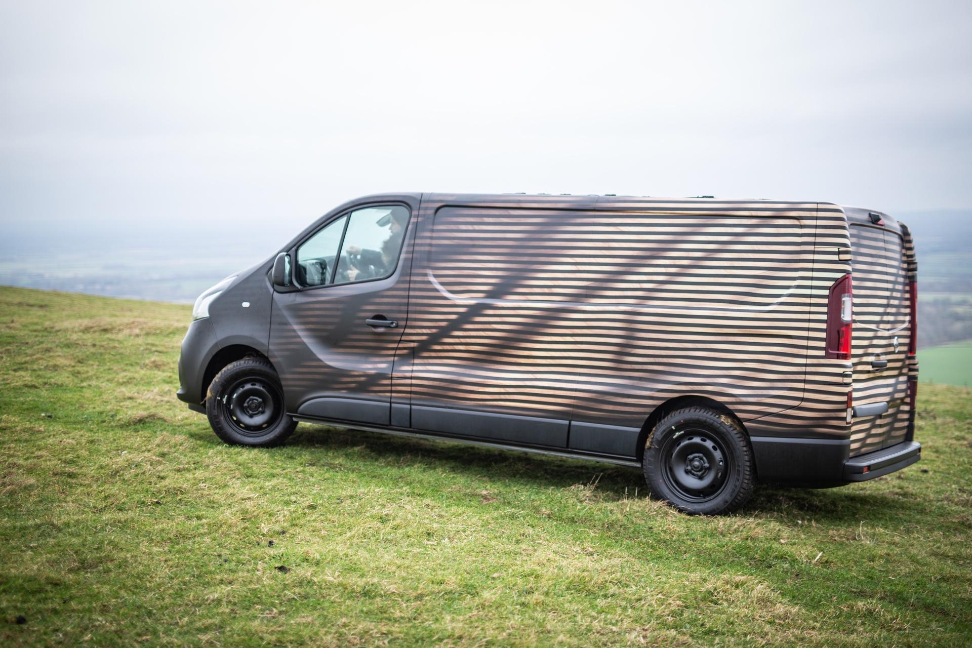 Nissan unveils NV300 Concept-van, a mobile workshop for a creati