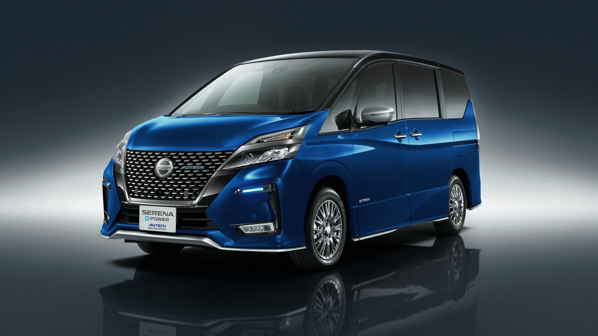 Nissan-Serena-e-Power-Autech-Multi-Bed-Concept