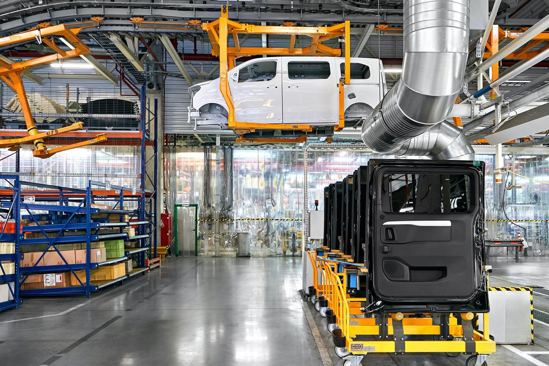 Opel Zafira Life @ Groupe PSA Plant Kaluga (Russia)