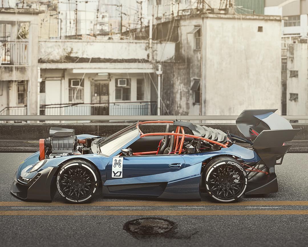 Porsche-911-with-HEMI-V8-engine-8