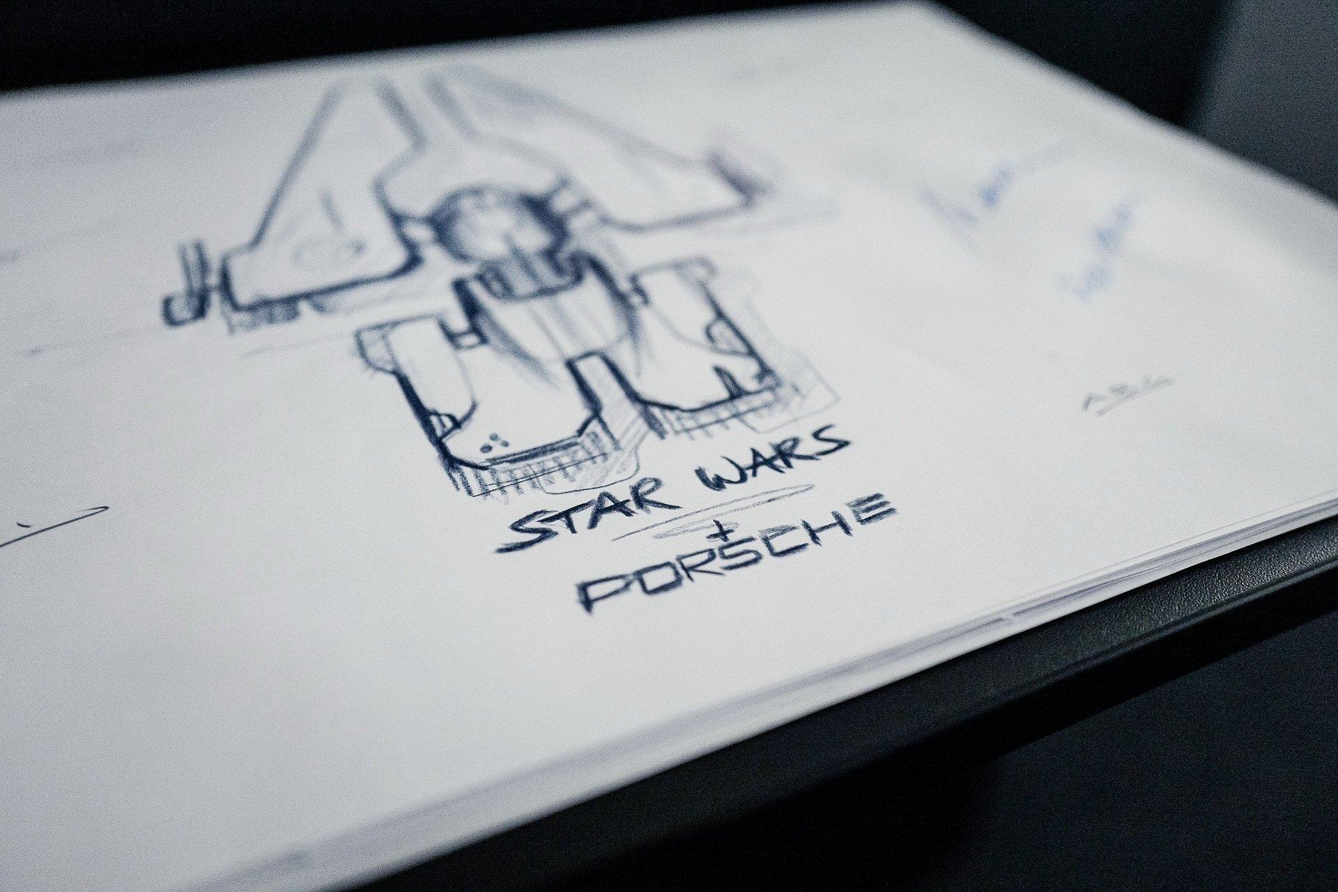Porsche-And-Star-Wars-Spaceship-1