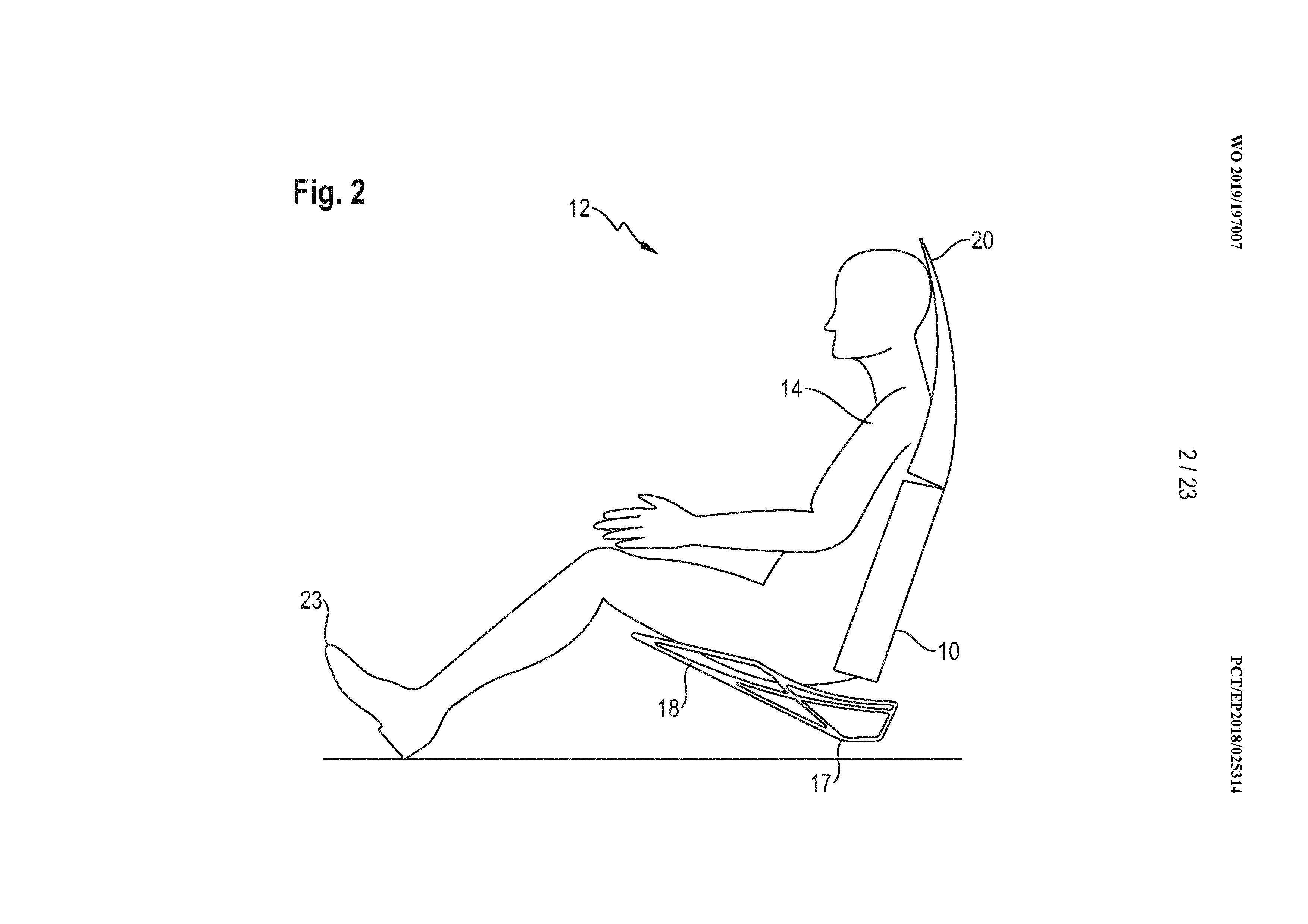 Porsche-Autonomous-Power-Seat-Patent-1