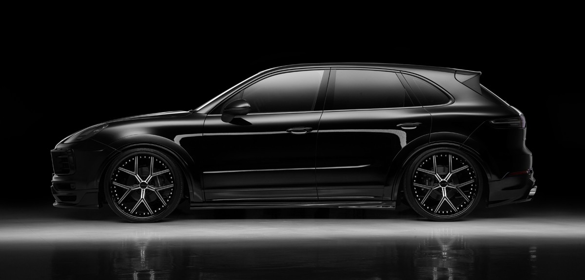 Porsche Cayenne Black Bison Wald International (3)