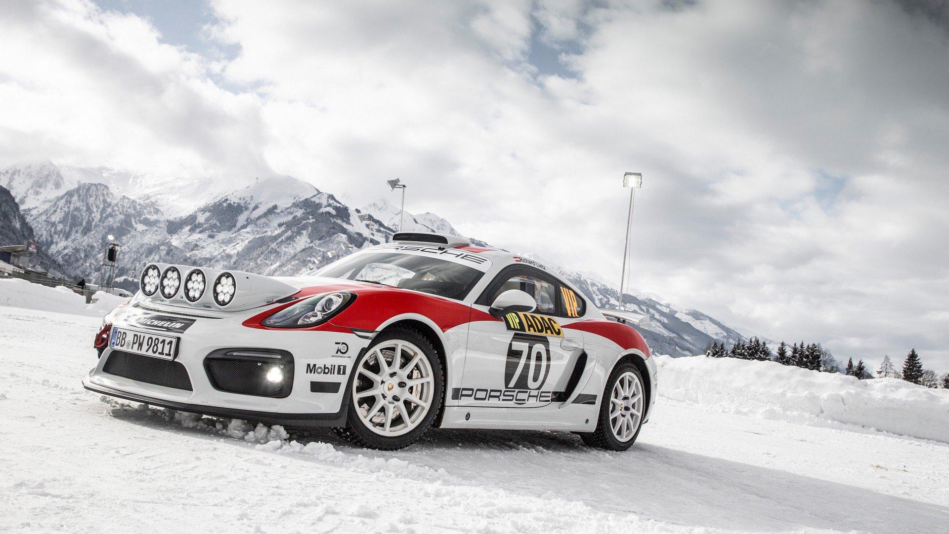 Porsche Cayman GT4 Rallye (1)