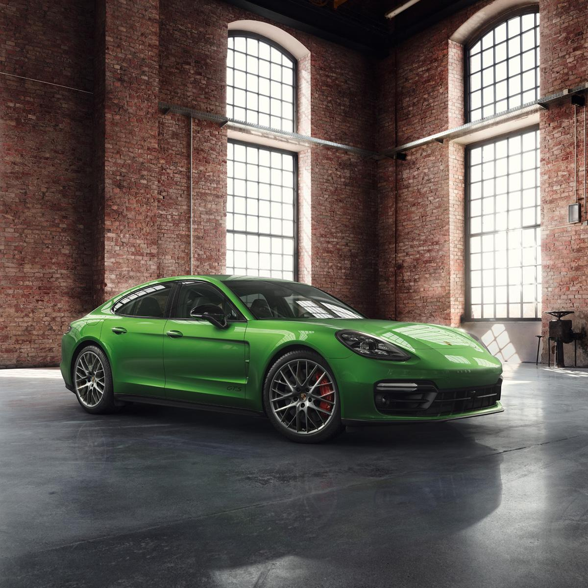 Porsche Panamera GTS in Mamba Green (2)
