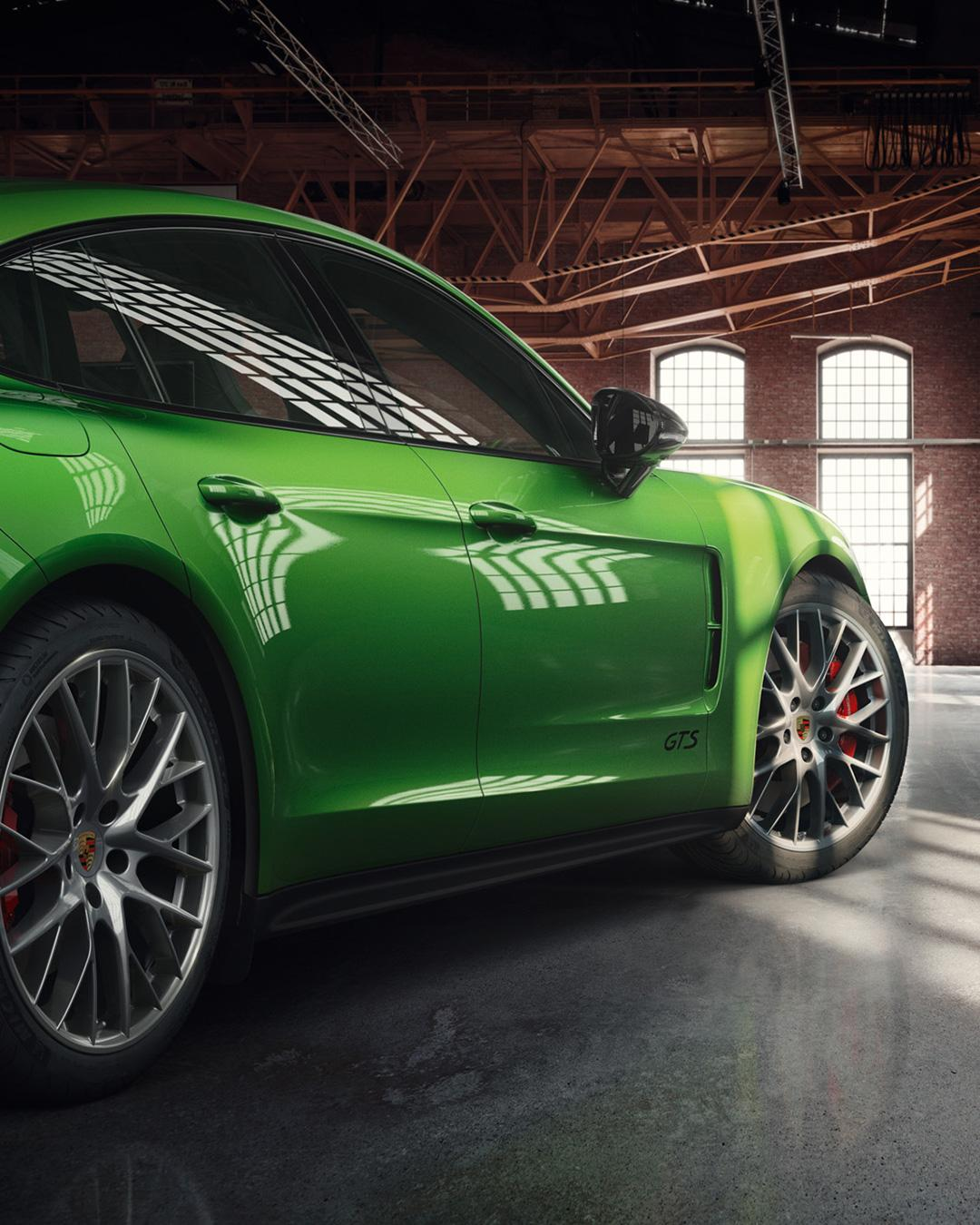 Porsche Panamera GTS in Mamba Green (3)