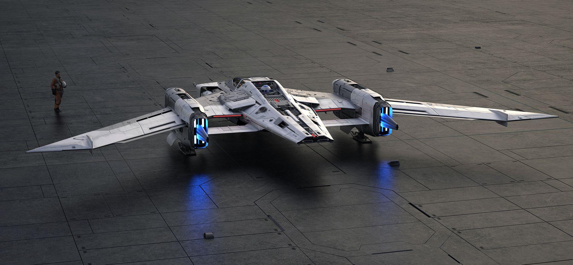 Porsche-Star-Wars-starfighter-space-ship-4