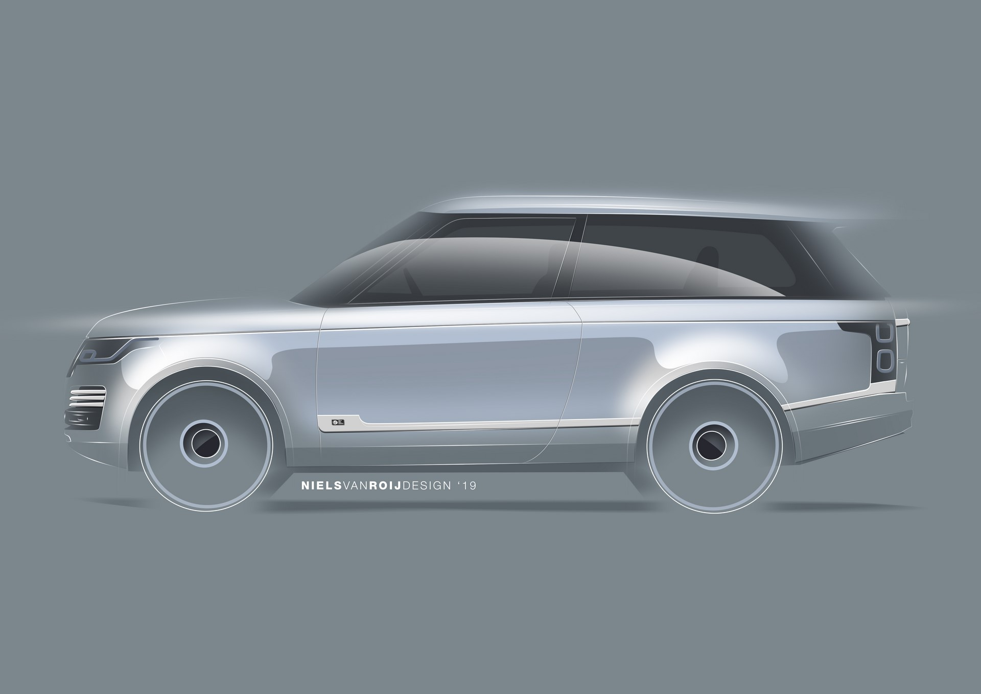 Range Rover Coupe by Niels van Roij Design (1)