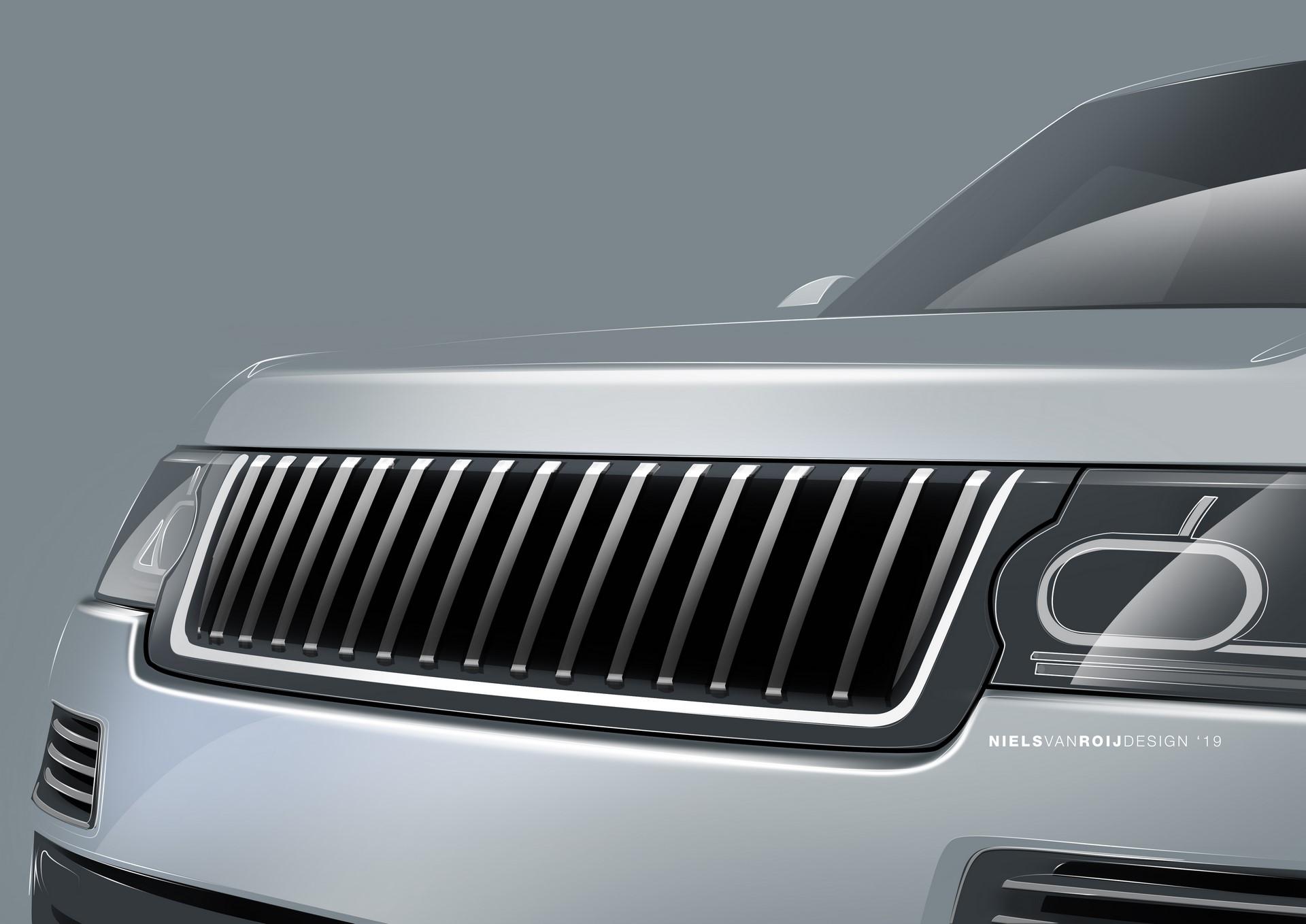Range Rover Coupe by Niels van Roij Design (2)