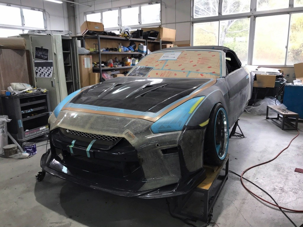 Nissan-GT-R-Convertible