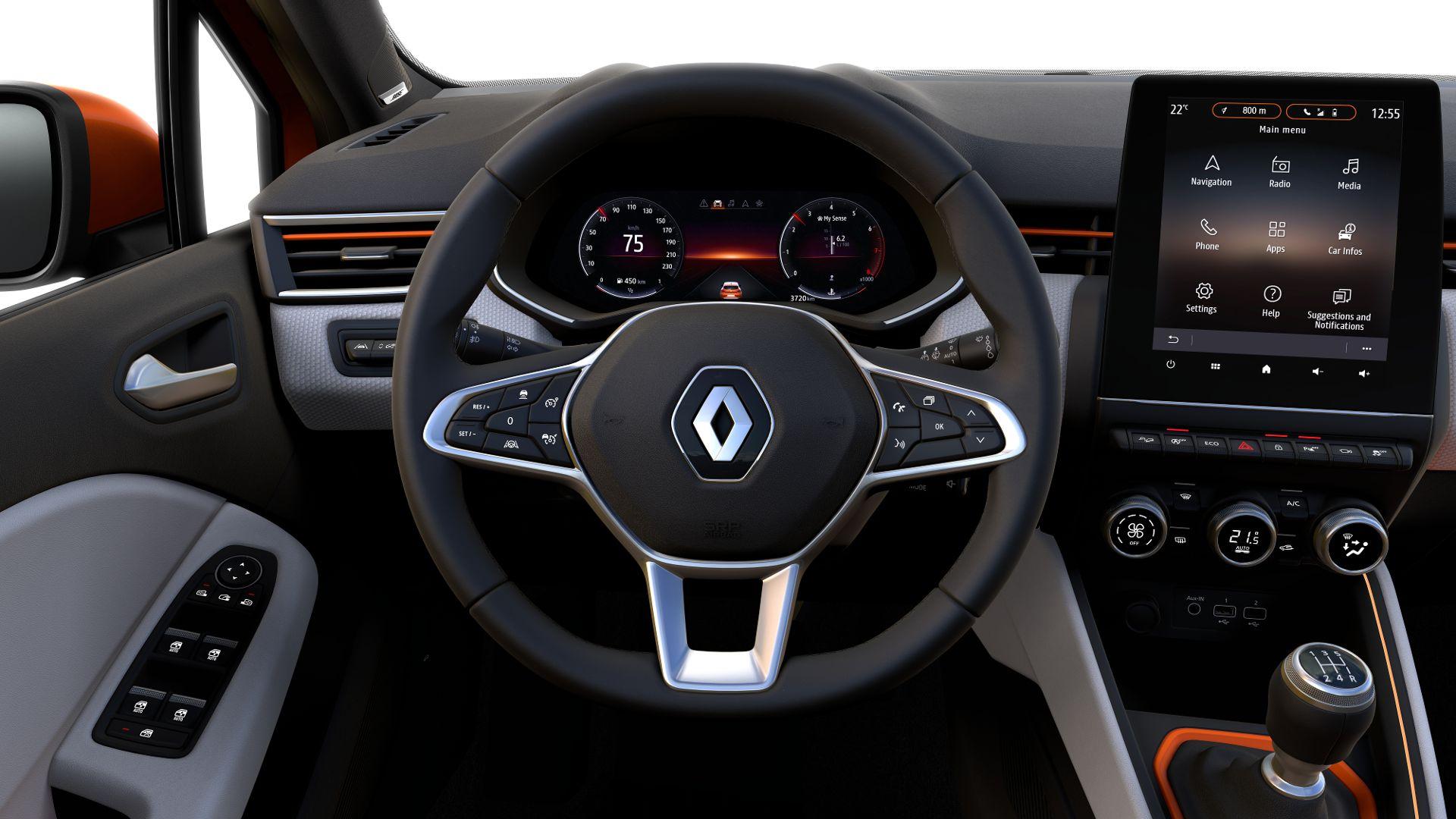 Renault Clio 2019 Interior (5)