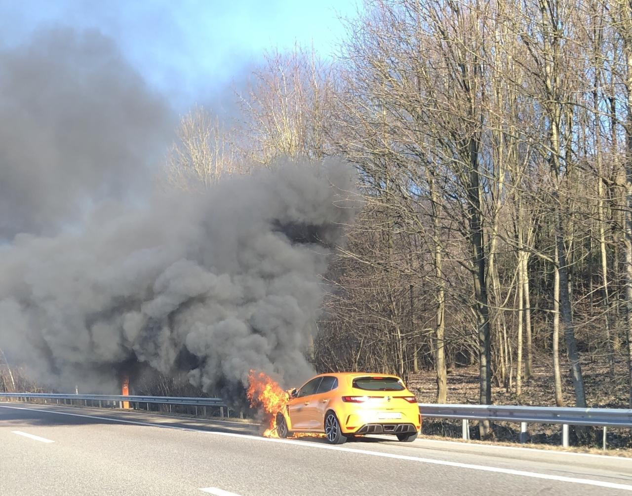 Renault Megane RS fire (2)