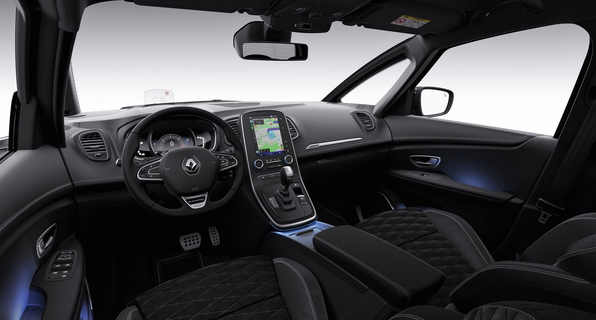 Renault Scenic και Grand Scenic Black Editions - Autoblog.gr