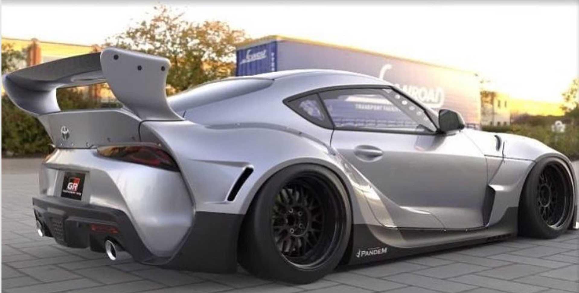 Rocket Bunny Toyota Supra wide bodykit (3)