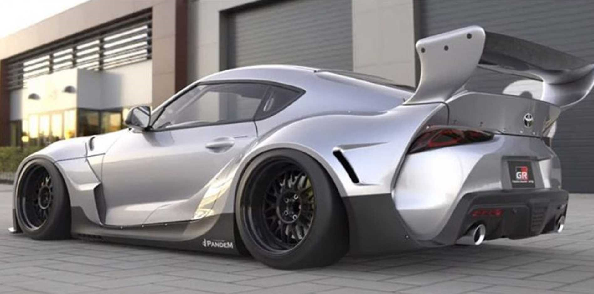 Rocket Bunny Toyota Supra wide bodykit (4)