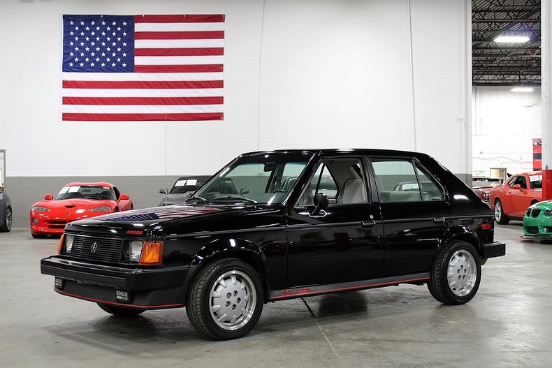 Shelby Dodge Omni GLHS 1985 for sale (1)