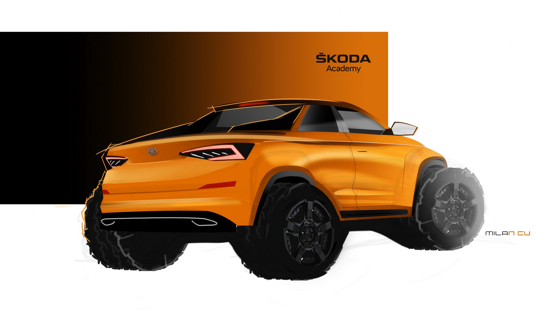 Skoda Kodiaq Pickup concept (1)