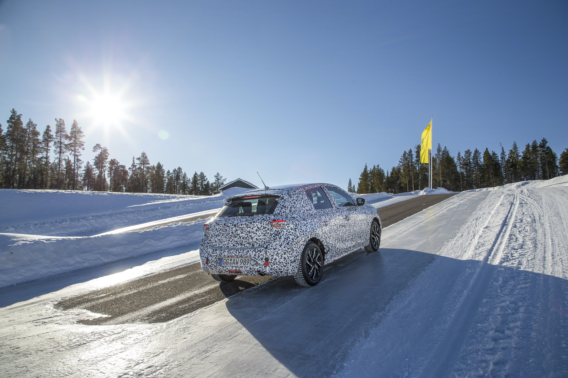 2019 Opel/Vauxhall Corsa winter tests