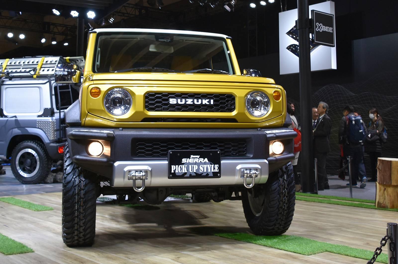 Suzuki Jimny Sierra Pickup Style concept andJimny Survive concept (1)