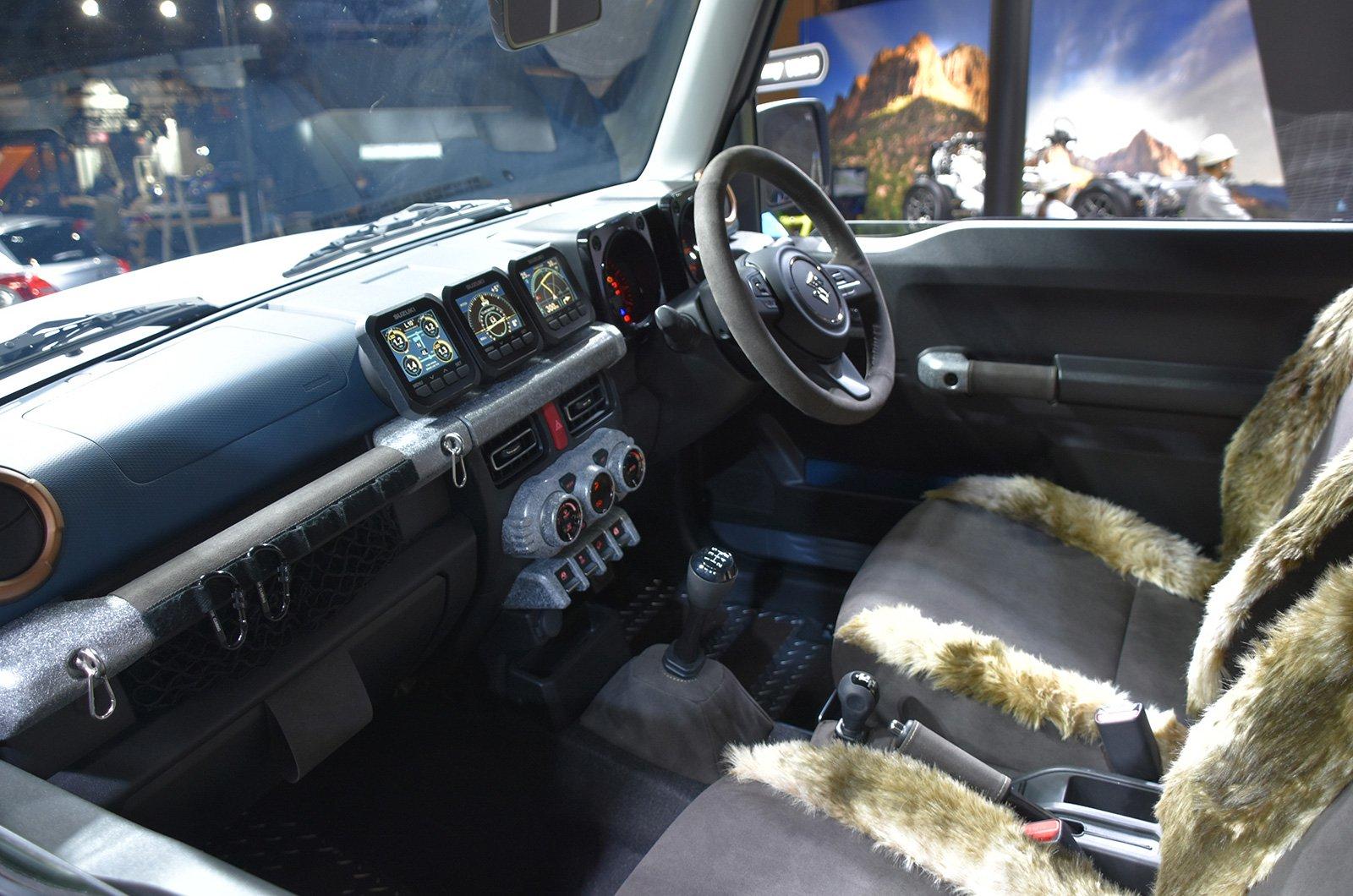 Suzuki Jimny Sierra Pickup Style concept andJimny Survive concept (10)