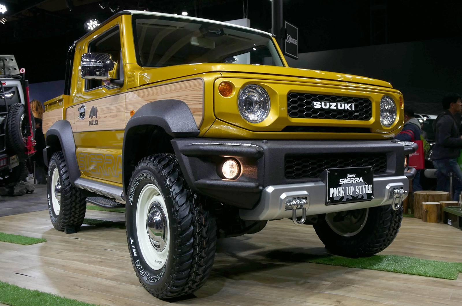 Suzuki Jimny Sierra Pickup Style concept andJimny Survive concept (2)