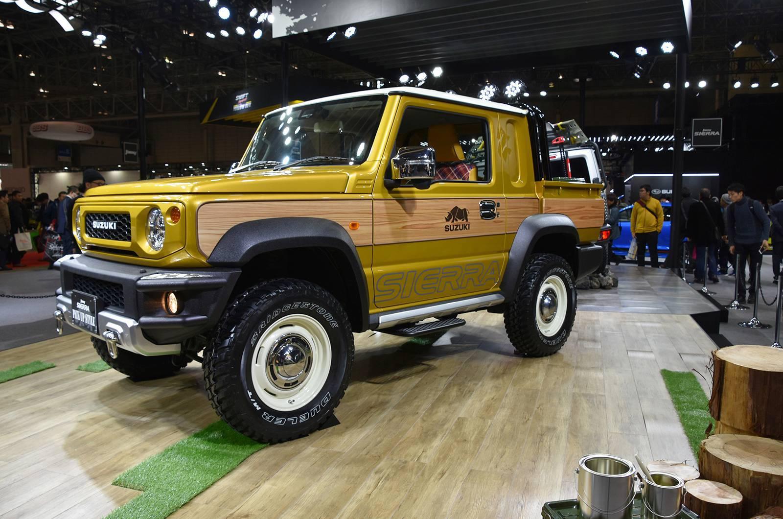 Suzuki Jimny Sierra Pickup Style concept andJimny Survive concept (3)