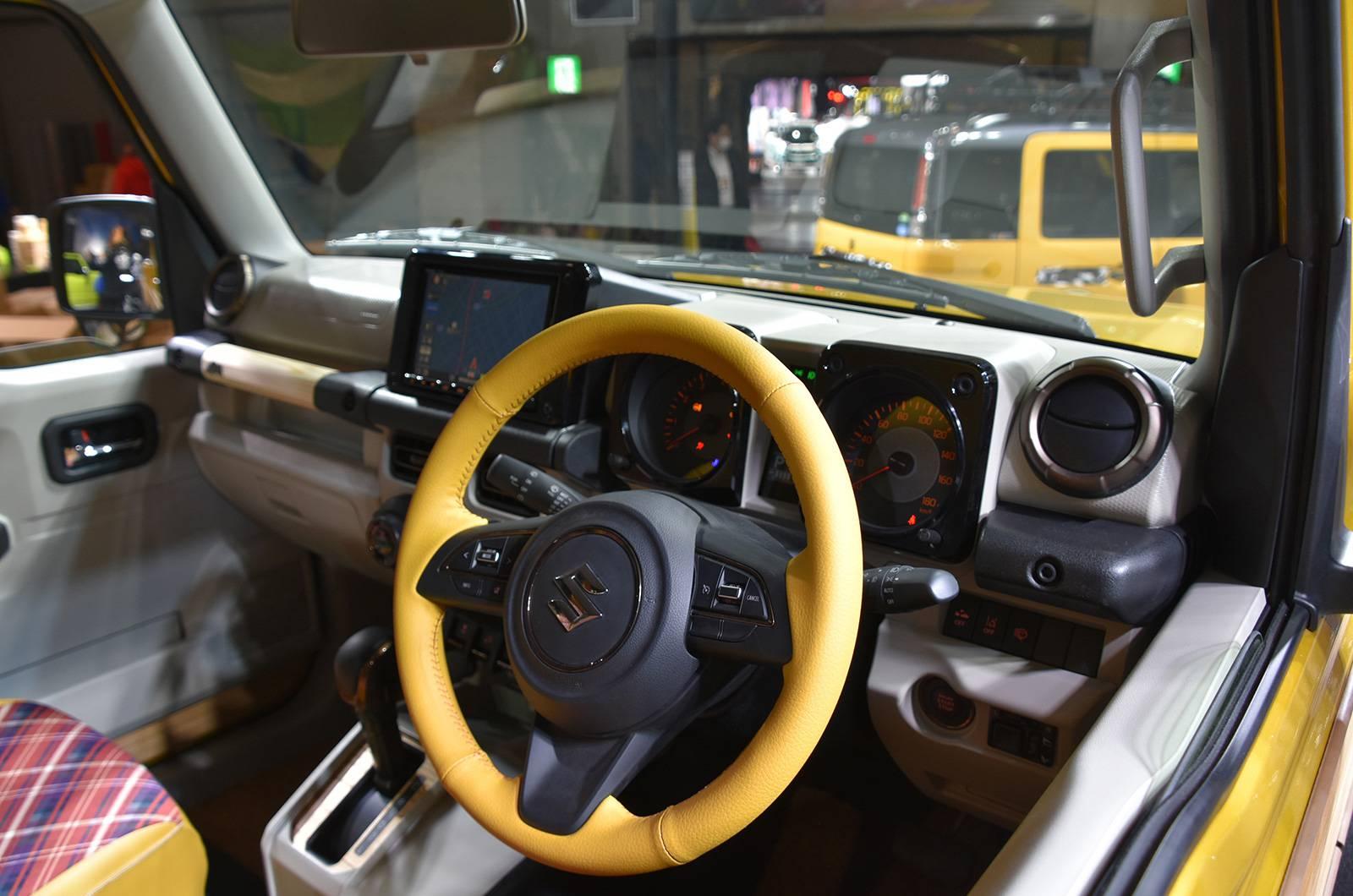 Suzuki Jimny Sierra Pickup Style concept andJimny Survive concept (4)
