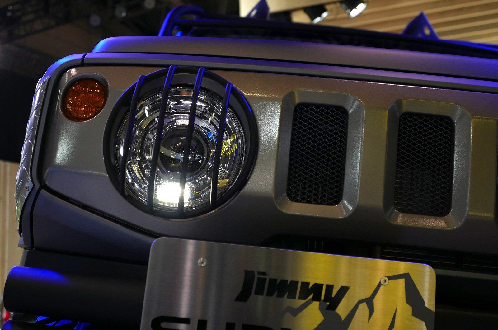 Suzuki Jimny Sierra Pickup Style concept andJimny Survive concept (9)