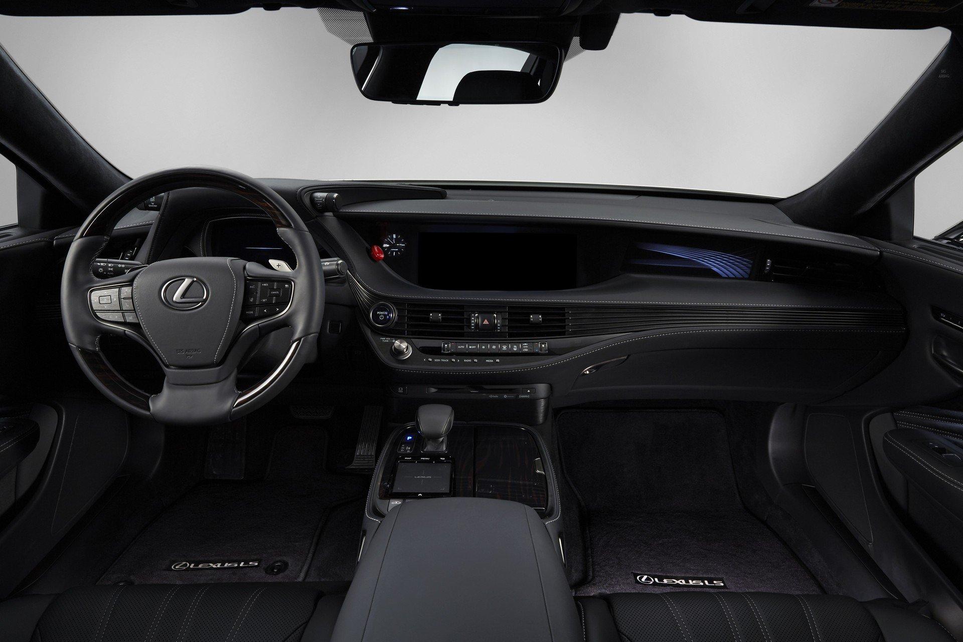 Toyota CES Lexus LS500h TRI-P4 autonomous (15)