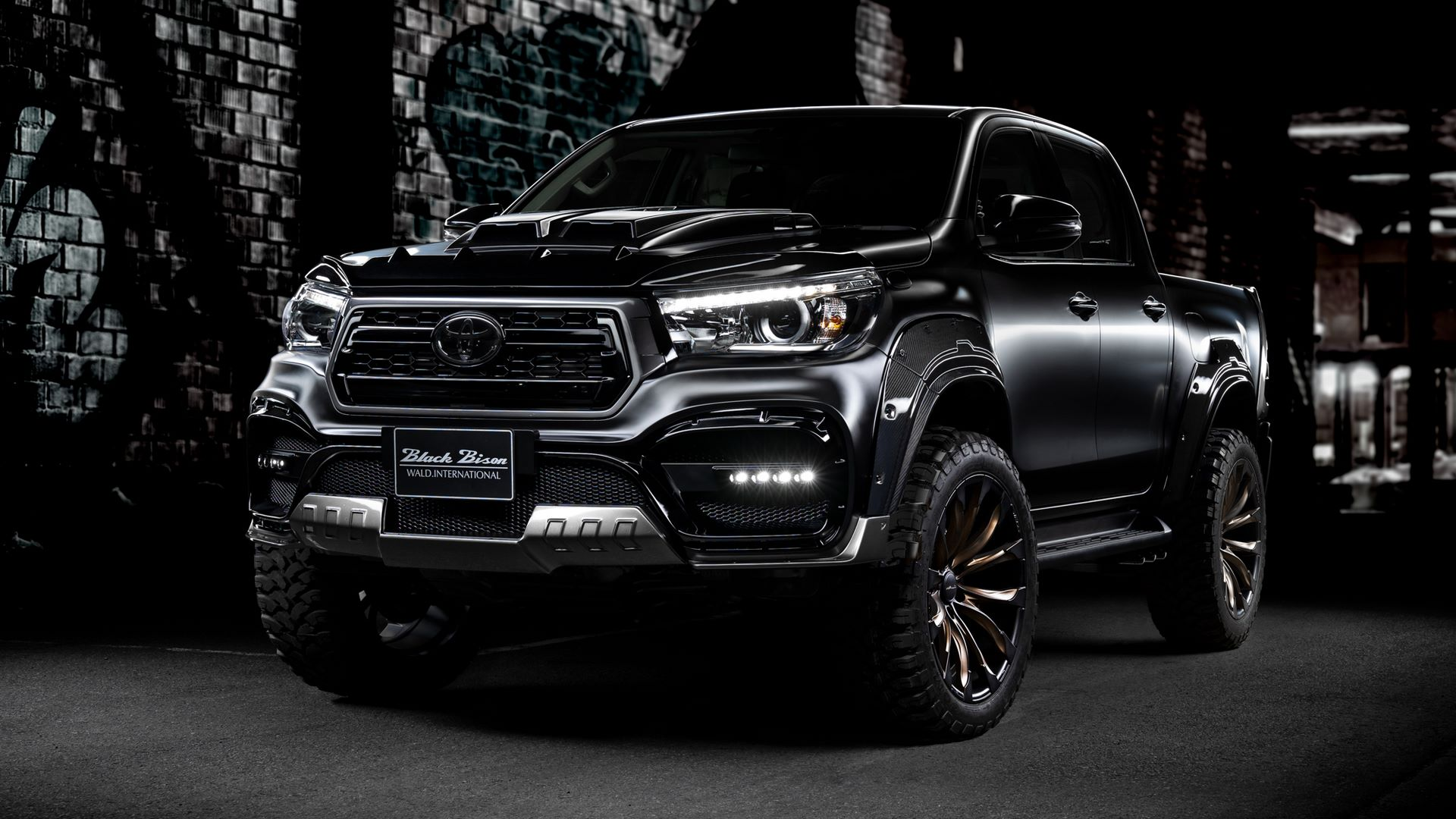 Toyota-Hilux-Black-Bison-by-Wald-International-1