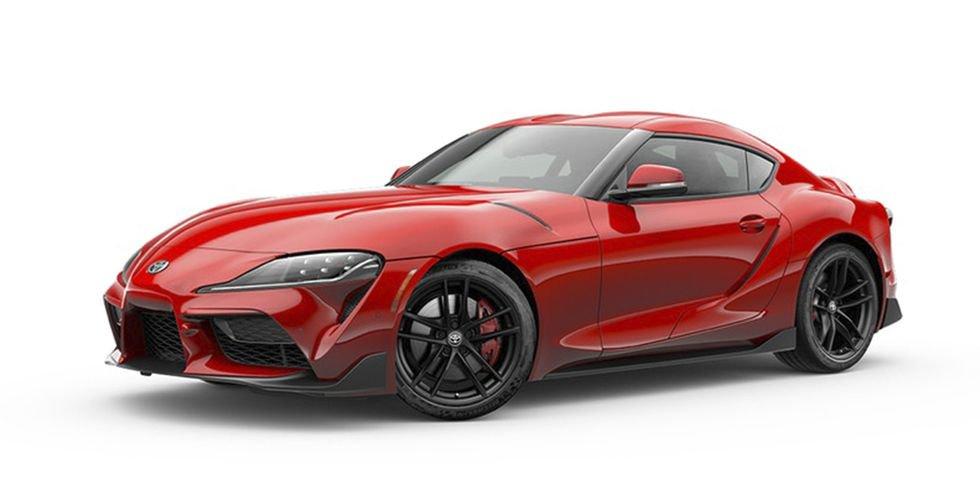 Toyota Supra Colors (1)