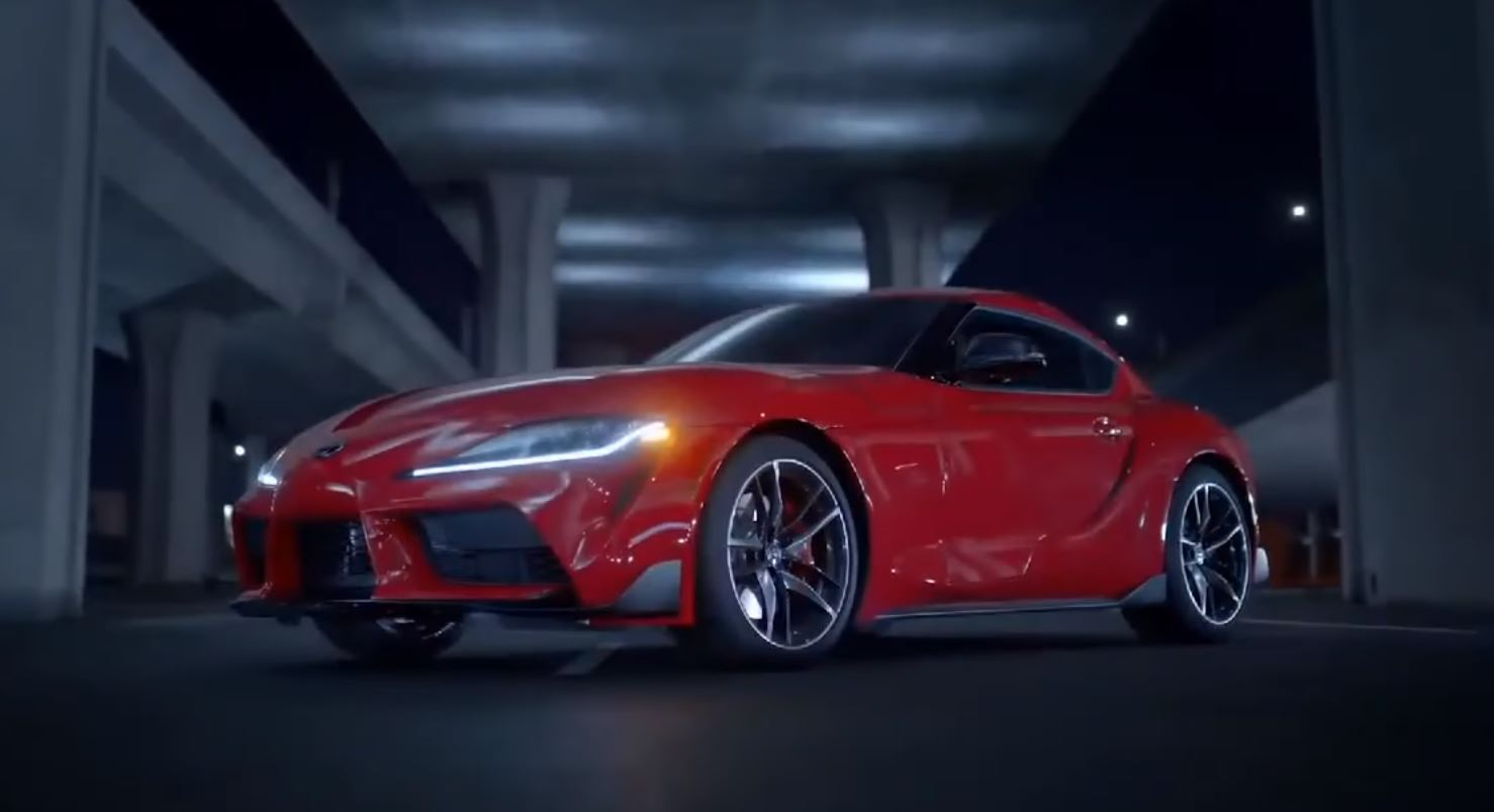 Toyota Supra Leaked video (1)