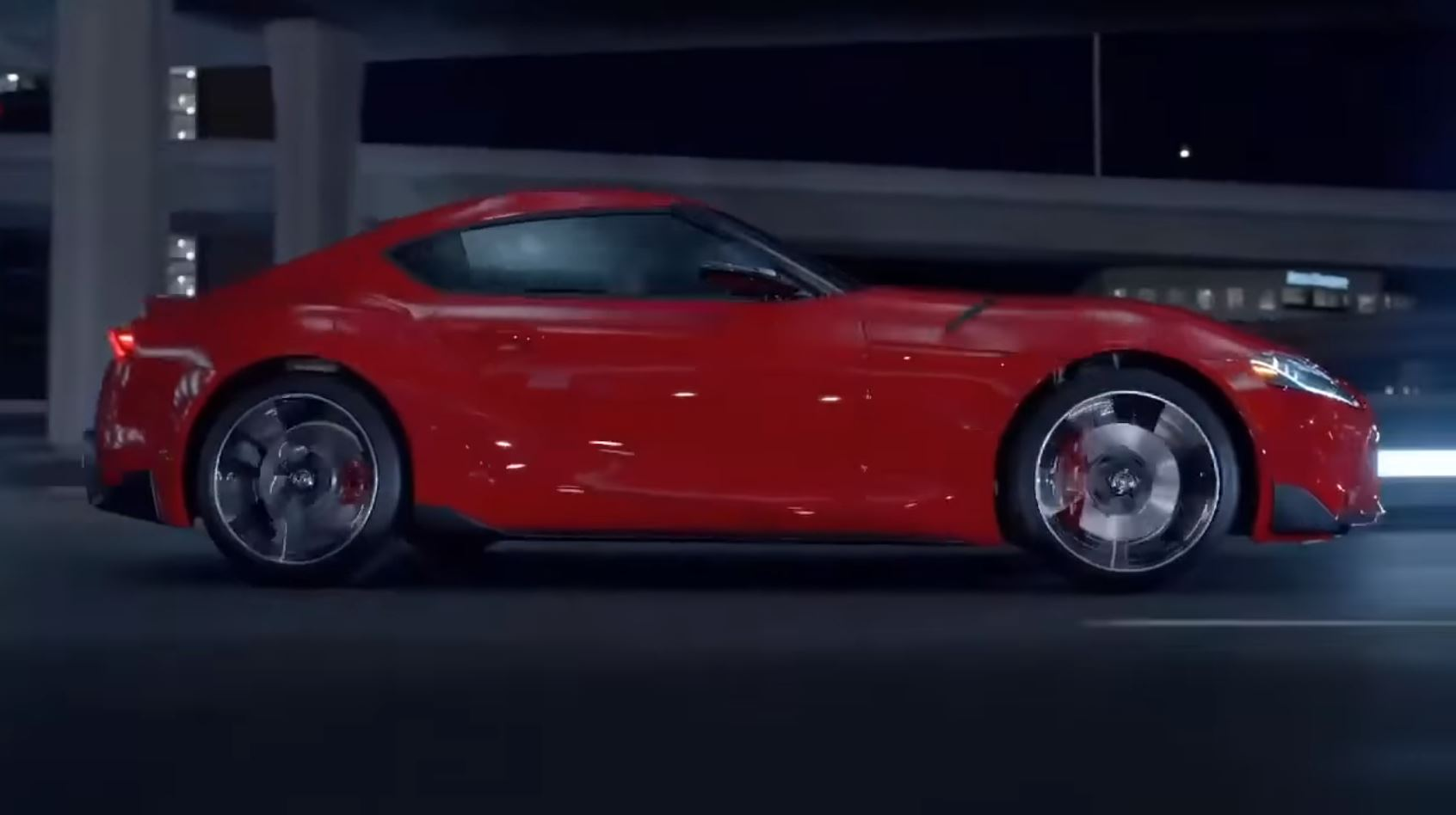 Toyota Supra Leaked video (2)
