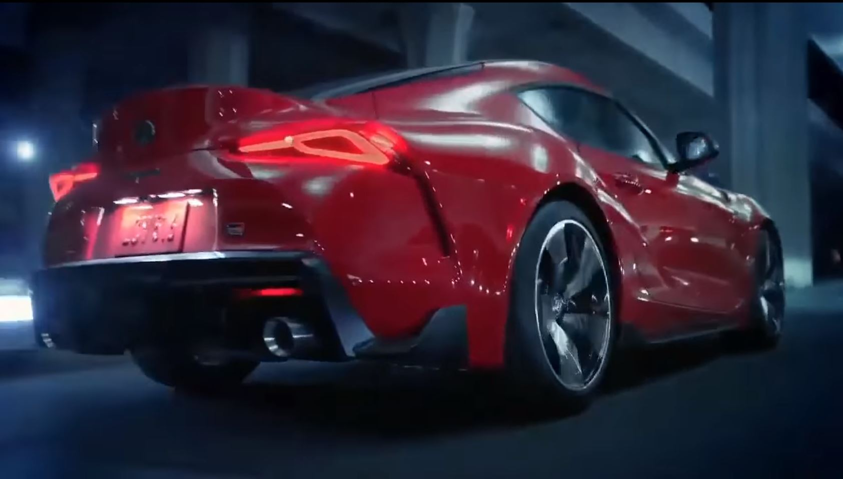 Toyota Supra Leaked video (3)